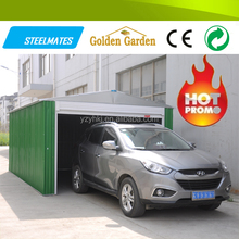 China prefab house galvanized metal waterproof car tent wholesale for outdoor