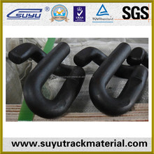 Railroad spring clip/Railway spring steel fasteners clip/high permanent clip strength rail clip