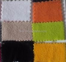 100% polyester one side brush polar fleece fabric