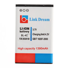 LD-1390NK2650 Link Dream 1390mAh Rechargeable Battery BL-4C for Nokia 2650/5100/6100/6101/6103/6125/6131