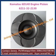 Engine Piston for Komatsu S6D140 Diesel Engine Cast Iron Piston 6211-32-2130