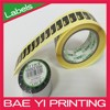 3 inch spot printed barcode roll label sticker