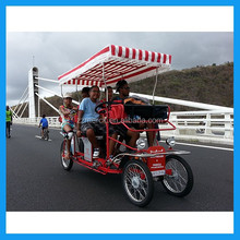 multi seater quadricycle bike for renting