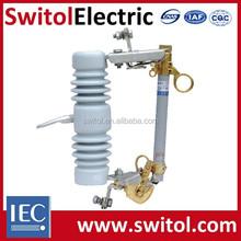 12kV 100A Porcelain High Voltage Cutout Fuse RW12 Type