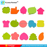 Factory Price Flower Shape Sticky Note Memo Pad Decorative Sticky Notes
