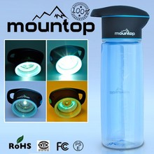2015 innovative product electric UV drinking water bottle design
