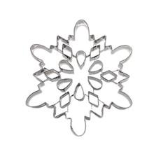 Christmas set gingerbread man snowflake stainless steel custom cookie cutter