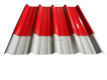 colored corrugated roof sheet with high corrosion resistant in stock