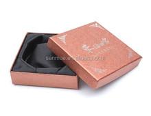 Fancy Paper Cardboard Gift Box for Jewelry Bangle Bracelet Wrist Watch w/Cushion