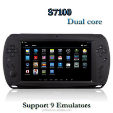 2014 new Game console Touch screen 7 inch dual core android game console