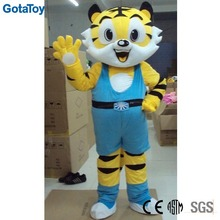 Custom plush tiger costume mascot for adult