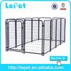 hot selling dog runnign fence/ metal dog kennel