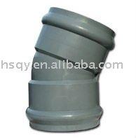 PVC Pipe Fittings 22.5 Degree Elbow