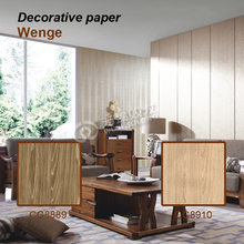 New fashion style maple/teak/applewood decorative paper