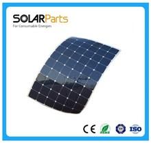 High efficiency poly 200w flexible solar sunpower panels for Marine,Boat, Yachts,camping solar system, Golf car