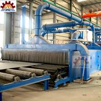 abrasive anti-rust buffing dust collect Steel Plate,Section Shot Blast Machine Q69 Highy Quality Painting Line