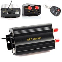 New Car Vehicle Tracker Auto With Remote Control GPS Tracker Tracking 103B GSM Alarm Anti-theft Google map tracking system
