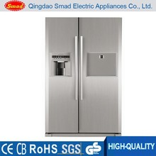 Stainless steel Refrigerator with water dispenser and ice maker