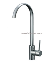 Hot Sale Long Neck Brass Kitchen Faucet Tap (82H32-CHR)