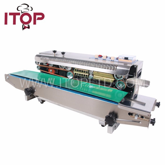 sealing plastic bags machine