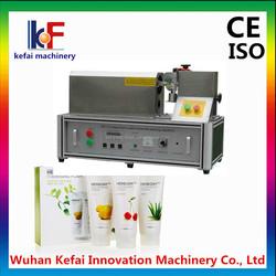 automatic aluminum cosmetic tube sealing machine