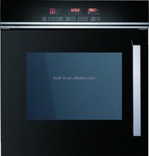Built in black Oven with side opening door