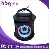 Multicolor portable usb mini speaker music box with fm radio