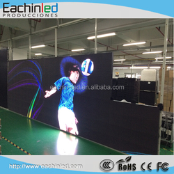Full color HD LED Video Wall Screen for Indoor Stage Background
