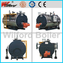 Oil gas steam fire tube boiler price