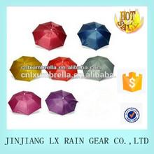 2015 China cheap umbrella hat colorful umbrella hat umbrella hat