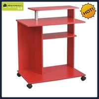 Red color PB materials gaming computer desk