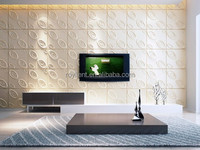 Easy installed embossed bamboo 3D wall panel in China