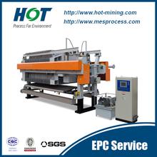 High Pressure Automatic Membrane Small Filter Press