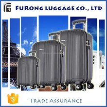 exported Grey OEM luggage sets / wheeled suitcase with trolley in Europe market