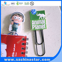Advertising soft PVC shpes clips for promotion