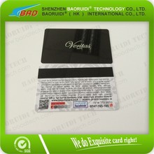 Customized Fashion New Hot Sell PVC Card with Magnetic Strip and Chip