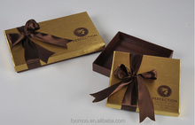 Beautiful luxury chocolate boxes packaging / chocolate plastic trays packaging china supplier