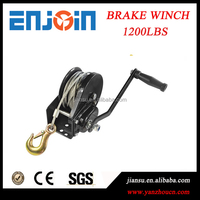CE SGS approved manufacturing 1200lbs powder coated general purpose brake pulling winch