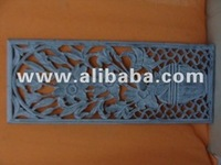 MDF carved panel design with different shape