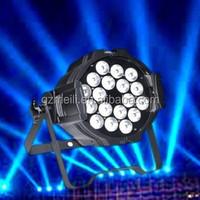 EXW price Dj equipment led lighting 18x10w 4 in 1 waterproof led par light