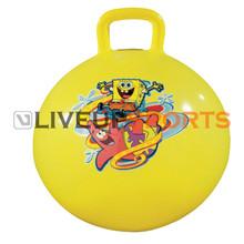 hopping gym bouncing ball