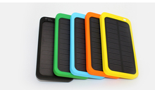 solar batteries charger 5000mah powerbank for mobile phones