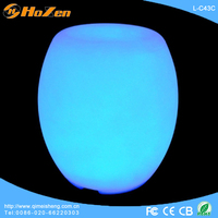 Supply all kinds of long legged LED chair,water filled LED chair