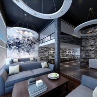 BISINI Luxury Coffee Shop Internal Design