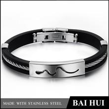 2015 Stainless Steel Snake Skin Bracelet Bangle/Hot-sale Snake Bracelet
