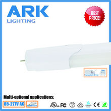 t8 led fluorescent tube 18w t8 led tube light rotated cap end 5 years warranty