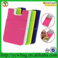 SIM/ID/credit card pocket pouch sleeve back sticker card holder