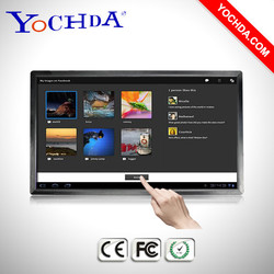 """65"""" Touch Screen Wall Mounted Advertising Player Built-in Android"""