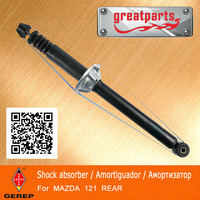 High quality rear Hydraulic shock absorber for MAZDA 121/FESTIVA D00128700E D00128700F