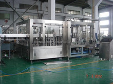 small bottled carbonated drink filling machine
